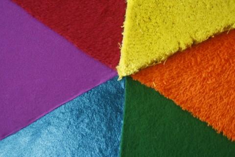 Detailfoto van Taktila kleurencirkel