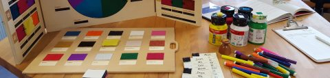 Impressie Taktila producten tijdens presentatie Bartiméus in Zeist