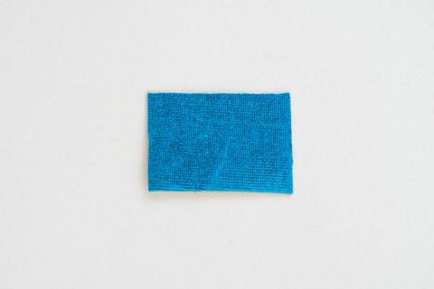 Taktila sticker cyaanblauw