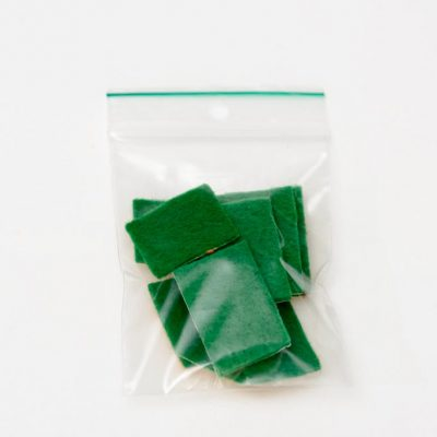 Taktila stickers groen, per 10 verpakt