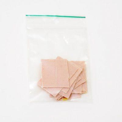 Taktila stickers blanke huid, per 10 verpakt