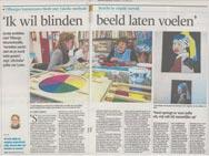 Artikel in een krant