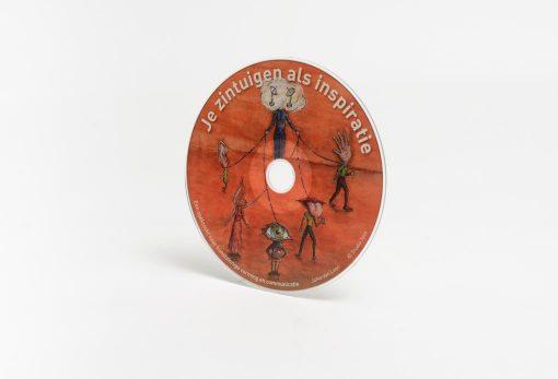 afbeelding cd luisterboek Je zintuigen als inspiratie