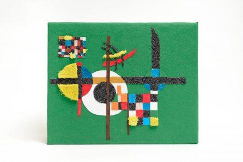 Taktila replica van het schilderij Counter weights van Wassily Kandinsky