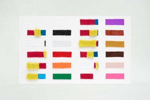 Mengpaneel Taktila voor mengverhoudingen uitgedrukt in de tactiele Taktila kleuren