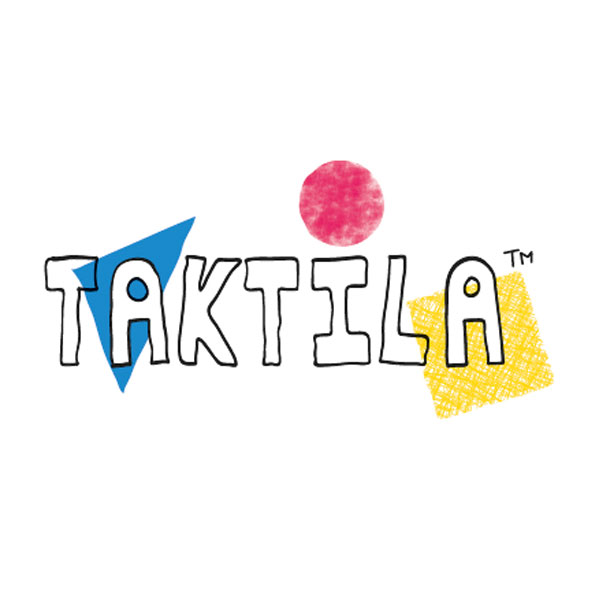 Logo Taktila, merk voor tactiele kleurbeleving en beeldvorming