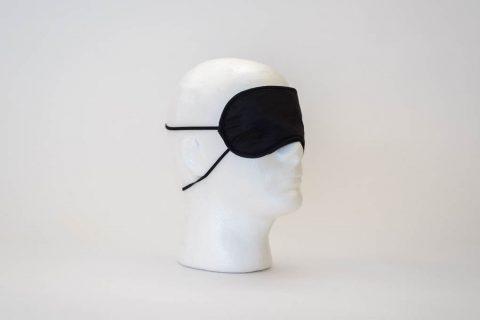 Blinddoek op hoofd