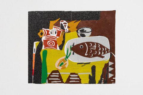 Replica van Braque, Le moulin à café