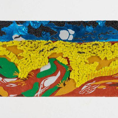 Replica van Van Gogh, Korenveld met kraaien